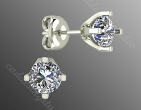 Earrings bi 8 3D print model