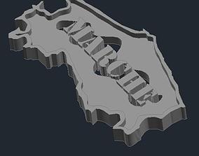 3D printable model Regione Marche 1