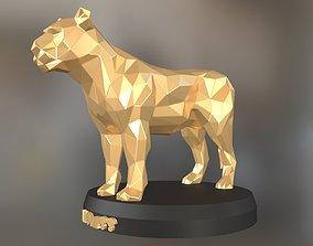 3D printable model Poly Lioness