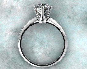 Model of a classic wedding ring