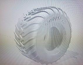 RC Monster Truck 48 inch Good Year Super 3D print model 3