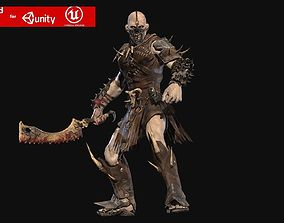 3D asset Undead Destroyer