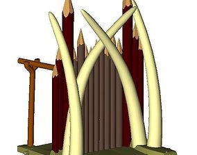 3D print model Orc Fort Basic Set