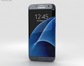 Samsung Galaxy S7 Edge Black android 3D model