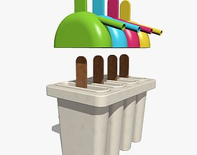 3D Ice Pop Maker Mold Set