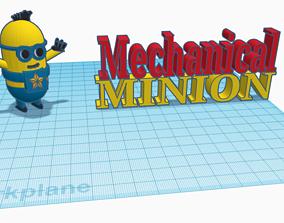 Minion 3D print model strategy