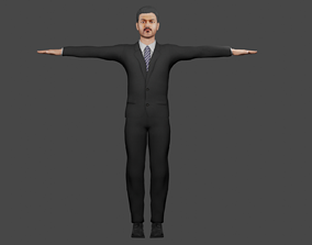 Thalapathy Vijay Character Rigged 3D