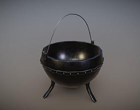 Metal Pot 1 JFG - FREE DOWNLOAD 3D asset VR / AR ready