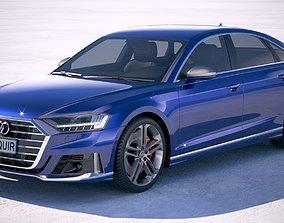 Audi S8 2020 3D