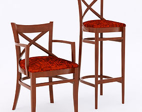 Paged Meble chairs 3D model