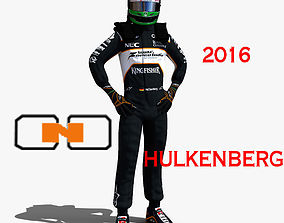 Nico Hulkenberg 2016 3D asset