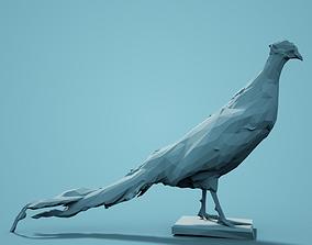fauna Low Poly Pheasant Model 2