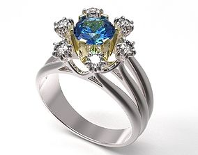 engagement 3D printable model Ring