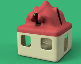 candlestick development toy game dragon house 3d