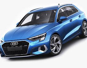 Audi A3 Sportback 2021 3D model