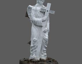 3D Angel Statue Scan RAW SCAN