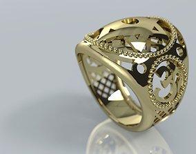 Ornamental Hindu Star of David Judaica 3D print model 1
