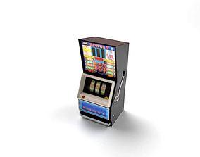 Electronic Slot Machine 3D model