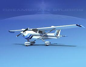 3D model Cessna 172 Skyhawk STOL V05
