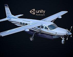 Cessna 208 Caravan Unreal PKG 3D asset