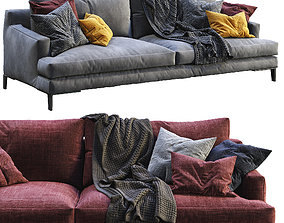 Poliform Sofa BELLPORT 2 color version 3D