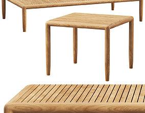 Brown Jordan Maldives coffee tables 2 options 3D model