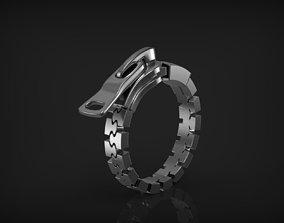 3D print model Ring Zipper