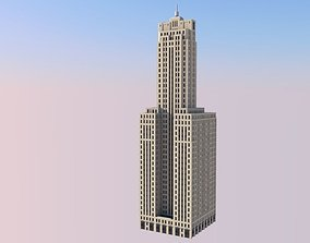 3D print model LaSalle Wacker Building