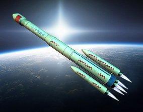 Long March rockets space technology aircraft 3D