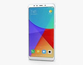 3D Xiaomi Redmi 5 Light Blue