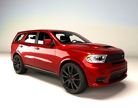3D asset game-ready Dodge DURANGO SRT