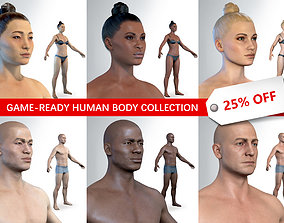 3D Average Human Body Collection