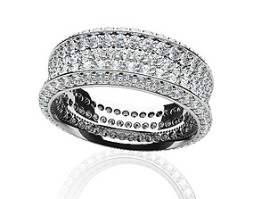 diamond-ring the diomand ring 3d model print