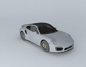 2014 Porsche 911 turbo S 991 3D model