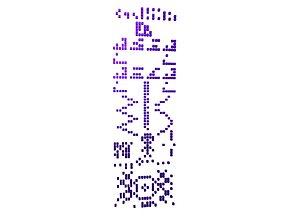 3D model Crop Circle Message v1 008