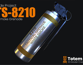 3D model CTS 8210 Smoke Grenade