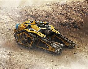 3D printable model Martian Callisto Super-Heavy Weapons
