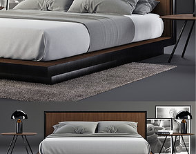 3D Envy Queen Bed SET
