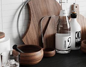 3D model PBR Kitchen Decor 2