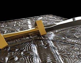3D Farmer Sword