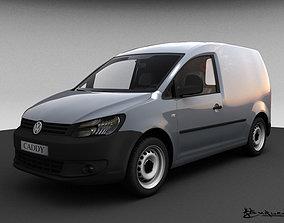3D model Volkswagen Caddy Kasten 2010
