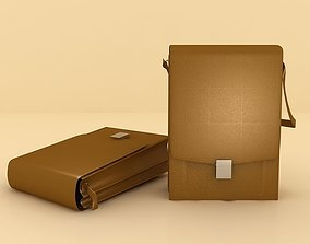 3D Bussiness Bag Model
