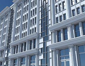 3D model Commercial Building Facade 22