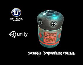 3D model Sci-Fi Battery Cell