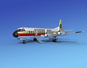 Lockheed L-188 Electra HP Continental 3D model