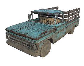 Abandoned Truck 08 3D