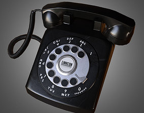 Rotary Phone - Game Ready 3D asset