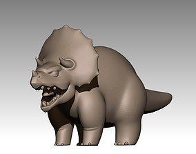 3D print model Adult Triceratops