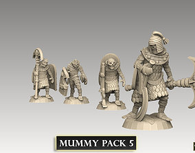 Mummy Pack 5 3D printable model