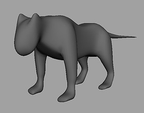 Low Poly Panther AAA 3D asset VR / AR ready